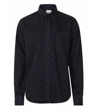 Les Deux Les Deux Leon Denim Overshirt Black