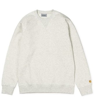 Carhartt Carhartt, Chase Sweat, Ash Heather / Gold
