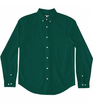 Dedicated Dedicated Shirt Varberg Oxford Evergreen