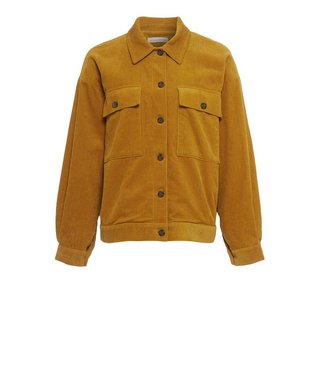 Native Youth Native Youth Women Manchester Cord Jacket Mustard