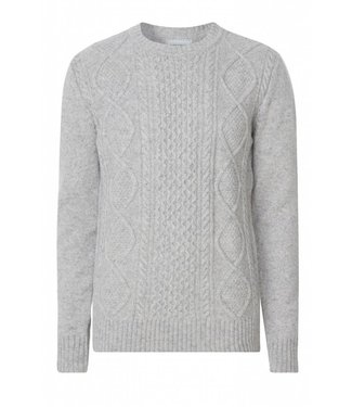 Les Deux Les Deux Hector Knitwear Light Grey