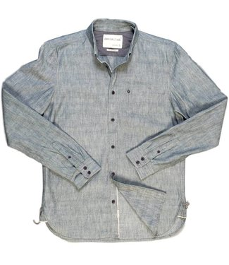 Denim Lab Denim Lab, Hidden Shirt, GREEN INDIGO