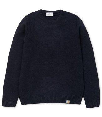 Carhartt Carhartt Allen Sweater Dark Navy