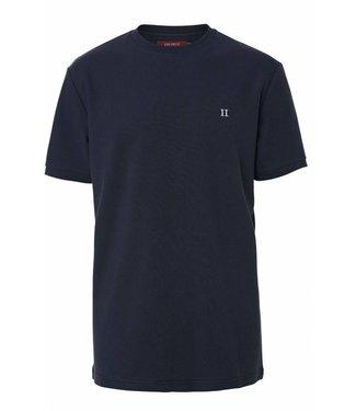 Les Deux Les Deux Pique T-shirt Dark Navy 060721