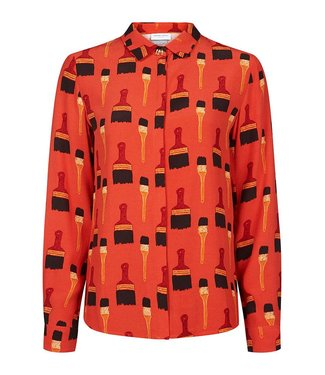 Fabienne Chapot Fabienne Chapot Don't Brush It Print Perfect blouse