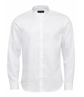 Clean Cut Copenhagen Clean Cut Copenhagen Paris Henley L/S White