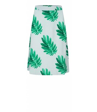 Fabienne Chapot Fabienne Chapot Mae Skirt Citrus Leaves Blue Green