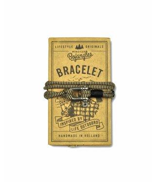 Monsieur Bojangles Monsieur Bojangles, Paddler Bracelet Sand Shock-Black