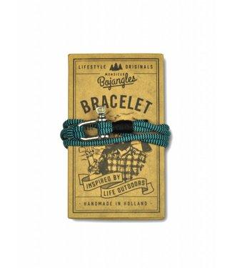 Monsieur Bojangles Monsieur Bojangles, Paddler Bracelet Turquoise Shock-Black