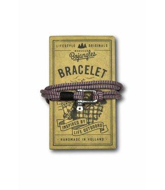 Monsieur Bojangles Monsieur Bojangles, Paddler Bracelet Rose Pink-Black