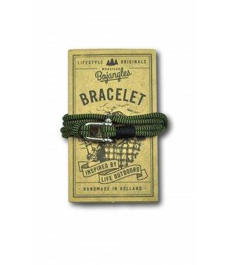 Monsieur Bojangles Monsieur Bojangles, Paddler Bracelet Moss Shock-Black