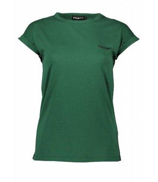 Oscar & Jane Oscar & Jane T-shirt Logo Dark Green