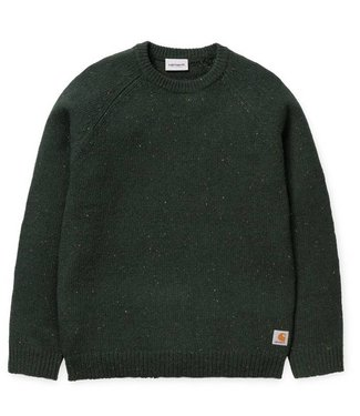 Carhartt Carhartt Anglistic Sweater Loden Green Heather