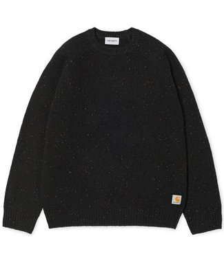 Carhartt Carhartt Anglistic Sweater Black Heather