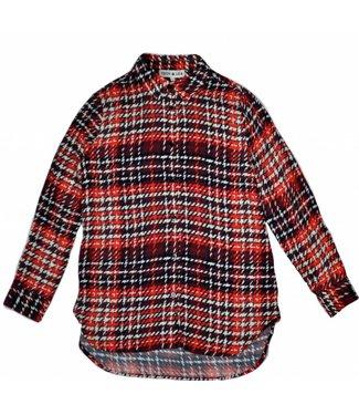 Teoh & Lea Teoh & Lea Shirt 22330 Red/Burgundy