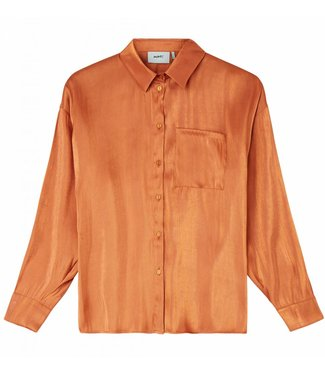Moves Moves Ossia Shirts Leather Brown
