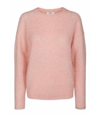 Moss Copenhagen Moss Copenhagen Mohair O Pullover Quartz Pink