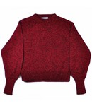 Teoh & Lea Teoh & Lea R/Neck Sweater Burgundy
