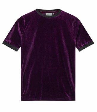 Moves Moves T-shirt Naolin Grape Juice velvet
