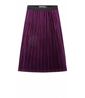 Moves Moves Skirt Saint Grape juice velvet