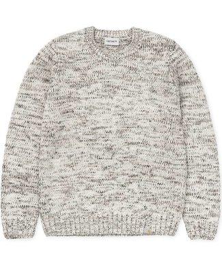 Carhartt Carharrt Morris Sweater Beige Tabacco