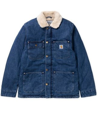 Carhartt Carhartt Fairmount Coat Blue Dark Stone Washed