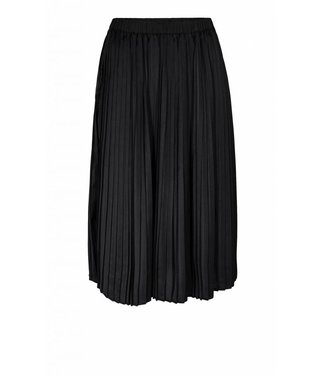 Moss Copenhagen Moss Copenhagen Loulou Pleat Polysilk Skirt Black
