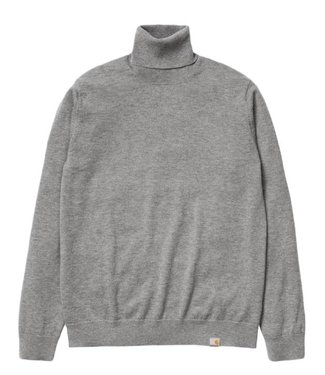 Carhartt Carhartt, Playoff Turtleneck Sweater, Dark Grey Heather