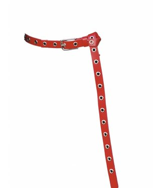 Elvy Elvy Hoops Gold Small Red