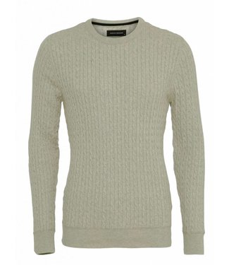 Clean Cut Copenhagen Clean Cut Copenhagen Cejle Crew Neck Snow Melange