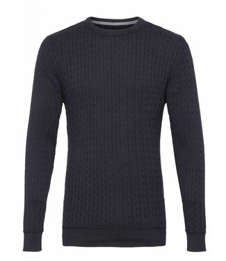 Clean Cut Copenhagen Clean Cut Copenhagen Cejle Crew Neck Navy