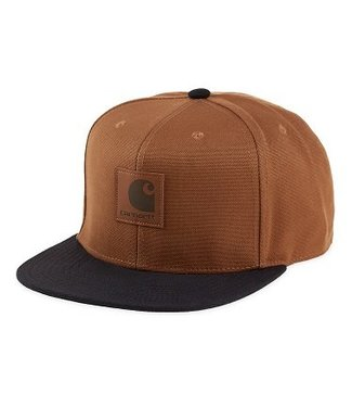 Carhartt Carhartt Logo Cap Bi-Colored Hamilton Brown/Black