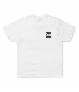 Carhartt Carhartt S/S State Patch T-Shirt White