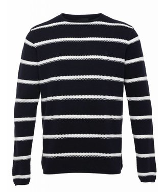 Clean Cut Copenhagen Clean Cut Copenhagen Göteborg Crew Knit Stripe