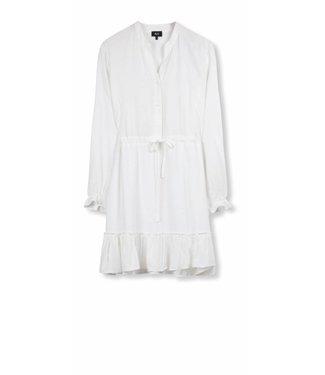 Alix Alix Ladies Woven Viscose Dress Off White