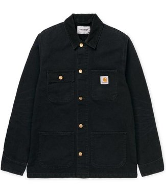 Carhartt Carhartt Michigan Coat Black Rinsed