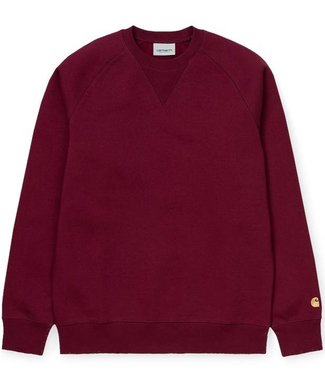 Carhartt Carhartt Chase Sweat Cranberry Gold