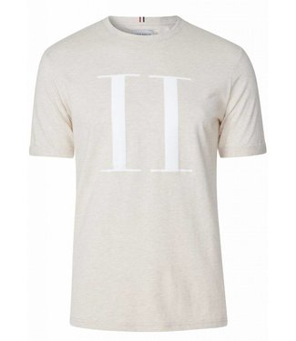Les Deux Les Deux Encore T-Shirt Light Brown/White