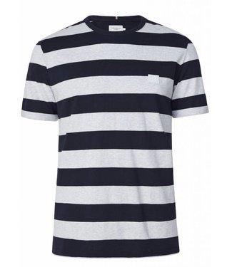 Les Deux Les Deux Levoir T/Shirt Sow Mel./Navy