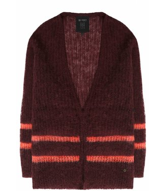 10 Feet 10 Feet Light Cardigan Aubergine