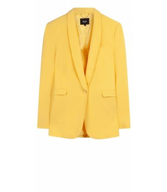 Alix Alix Woven Stretch Blazer Soft Yellow