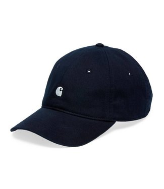 Carhartt Carhartt Madison Logo Cap Dark Navy / White
