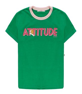 10 Feet 10 Feet T-shirt Attitude Toweling Embroidery Emerald