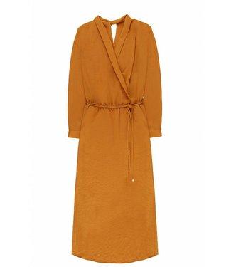 10 Feet 10 Feet Long Feminine Dress Drapy Wrap Around Caramel