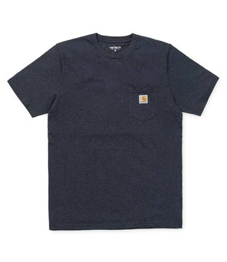 Carhartt Carhartt Pocket T-shirt Single Jersey Dark Navy Heather