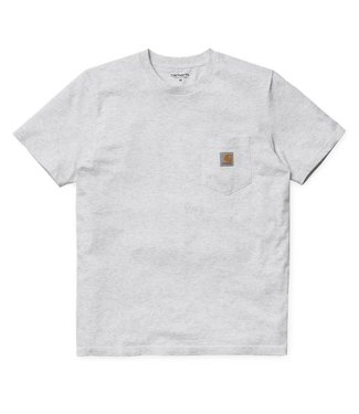 Carhartt Carhartt Pocket T-shirt Single Jersey Ash Heather