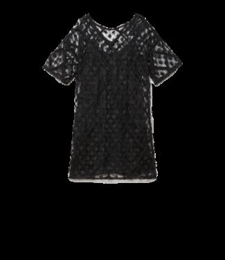 Ottod'ame Ottod'ame Abito Dress LGO DA3551 Black
