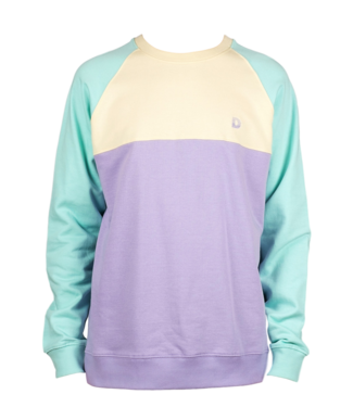Dedicated Dedicated Sweatshirt Malmo Split Pale Yellow