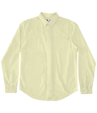 Dedicated Dedicated Shirt Varberg Oxford Pale Yellow