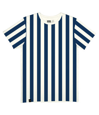 Dedicated Dedicated T-shirt Stockholm Big Stripes Off White